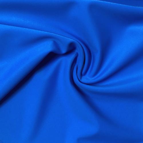 Brave Blue Kira Matte Tricot Spandex, swimwear fabric, swim fabric, blue fabric, blue swimwear fabric, chlorine resistant fabric, UPF fabric