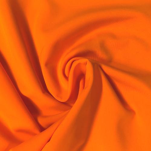 Orange Drive Kira Matte Tricot Spandex, orange fabric, orange swim fabric, swim fabric, swimwear fabric, tricot fabric, chlorine resistant fabric, UPF fabric