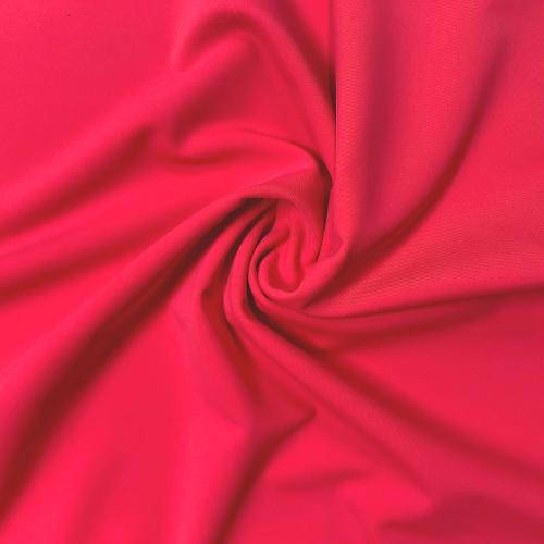 Rosy Kira Matte Tricot Spandex, pink fabric, pink swim fabric, swim fabric, swimwear fabric, tricot fabric, UPF fabric, chlorine resistant fabric