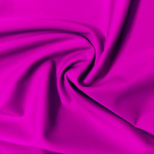 Very Fuchsia Kira Matte Tricot Spandex, chlroine resistant fabric, purple fabric, UPF fabric, purple swim fabric, swim fabric, swimwear fabric, tricot fabric