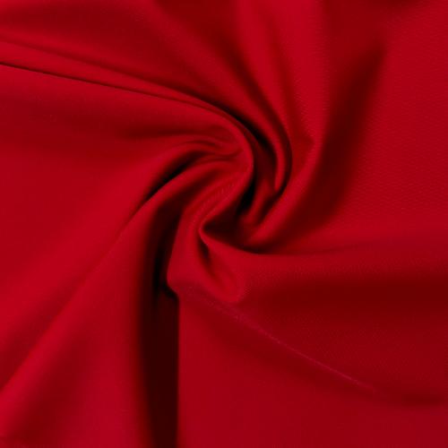 Atomic Red Kira Matte Tricot Spandex, swimwear fabric, swim fabric, red fabric, red swimwear fabric, chlorine resistant fabric, UPF fabric