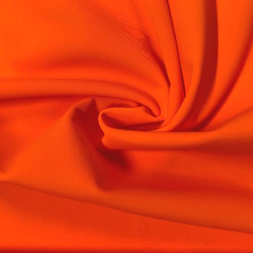 Vitality Kira Matte Tricot Spandex, orange fabric, orange swim fabric, swim fabric, swimwear fabric, tricot fabric, chlorine resistant fabric, UPF fabric