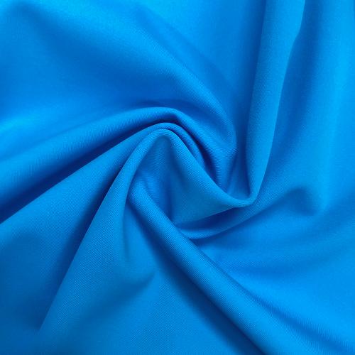 Cyan Blue Kira Matte Tricot Spandex, swimwear fabric, swim fabric, blue fabric, blue swimwear fabric, chlorine resistant fabric, UPF fabric