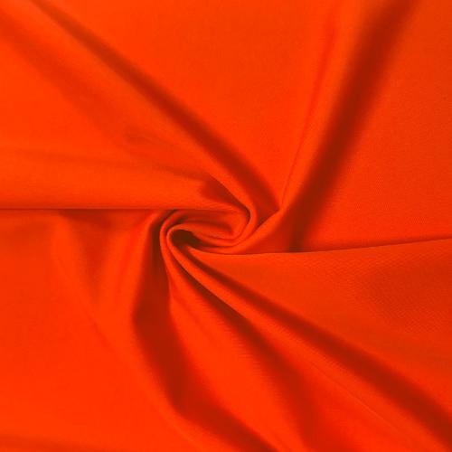 Papayana Kira Matte Tricot Spandex, orange fabric, orange swim fabric, swim fabric, swimwear fabric, tricot fabric, chlorine resistant fabric, UPF fabric