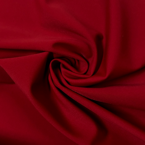 Bullfight Kira Matte Tricot Spandex, swimwear fabric, swim fabric, red fabric, red swimwear fabric, chlorine resistant fabric, UPF fabric