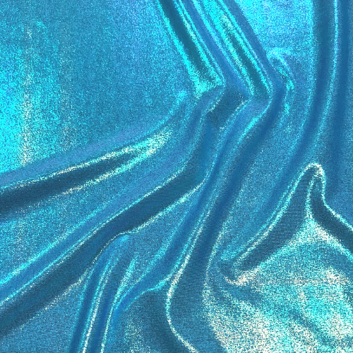 Ice Blue Iridescent Foil Spandex, cinderella fabric, blue fabric, iridescent foil fabric, dance fabric, gymnastics fabric, costume fabric