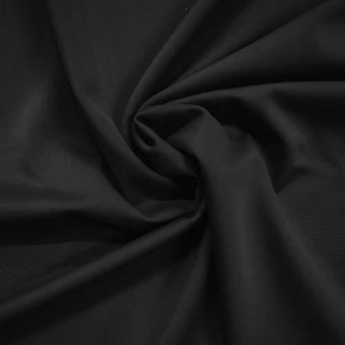 Solid Black Spandex, black fabric, spandex fabric, discount fabric, activewear fabric