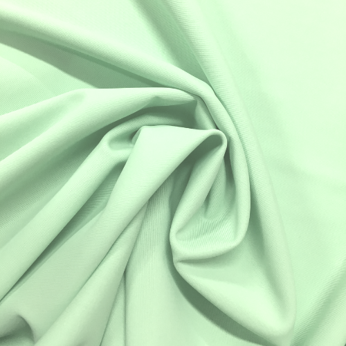 Spearmint Tricot Spandex, green fabric, tricot fabric, green tricot fabric, discount fabric