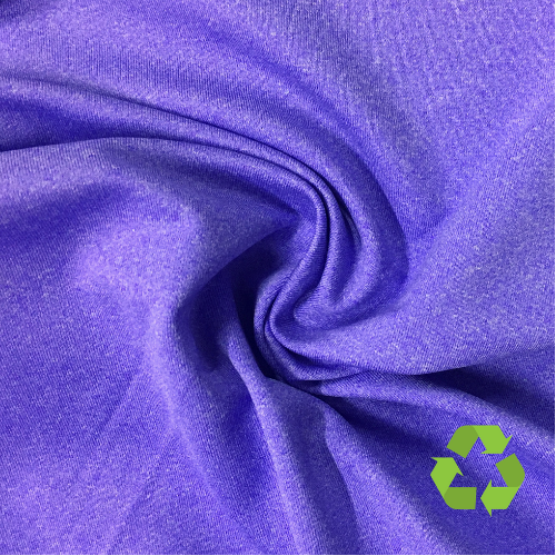 Wisteria Purple Spandex, purple fabric, purple spandex, recycled fabric