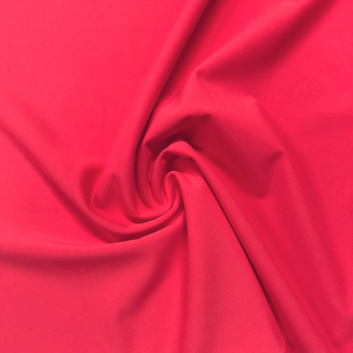 Watermelon Matte Tricot Spandex, chlorine resistant fabric, pink fabric, discount fabric