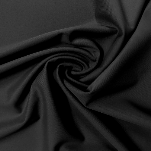 Slate Black Spandex, black fabric, solid fabric, swim fabric, discount fabric