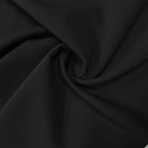 Pitch Black Spandex, black fabric, solid fabric, swim fabric, discount fabric