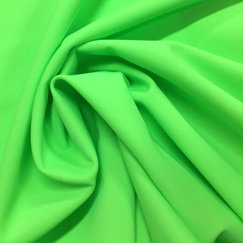 Lime Green Tricot Spandex, green fabric, tricot fabric, swim fabric, discount fabric