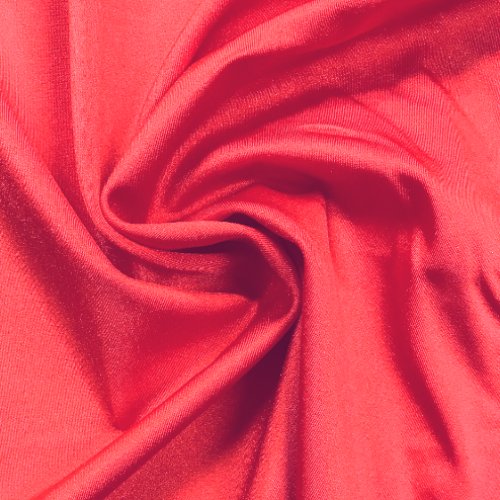 Watermelon Shiny Spandex, red fabric, discount fabric