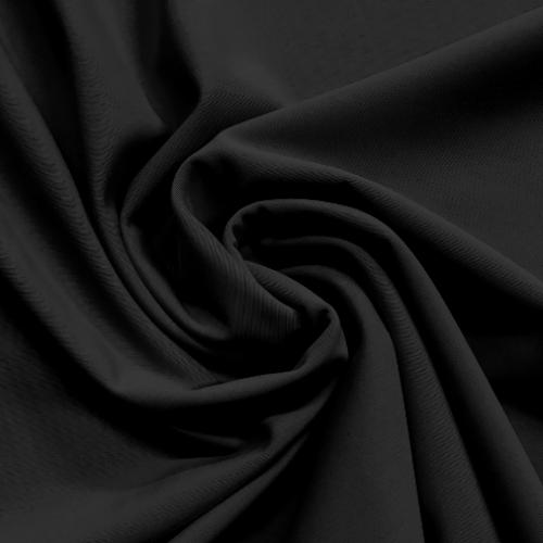 Sable Black Spandex, black fabric, black spandex, discount fabric