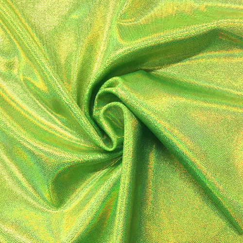 Lemon Lime Sparkle Spandex, yellow fabric, dance fabric, wholesale dance fabric, wholesale gymnastics fabric, discount fabrics