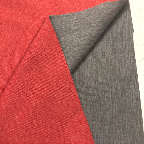 Reversible Heather Double Knit Spandex, reversible fabric, heathered fabric