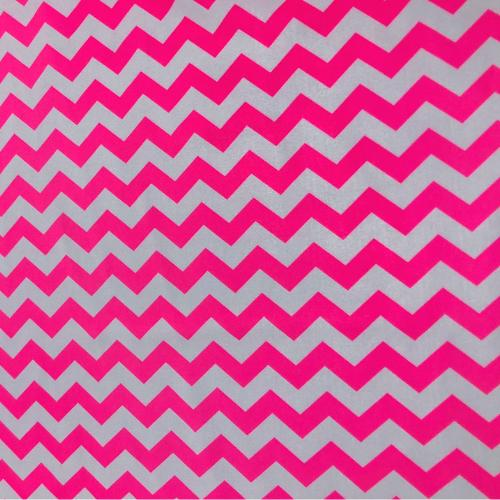 Pink Zig Zag Deluxe Tricot Spandex, chevron fabric. pink chevron fabric, zigzag fabric, discount fabric