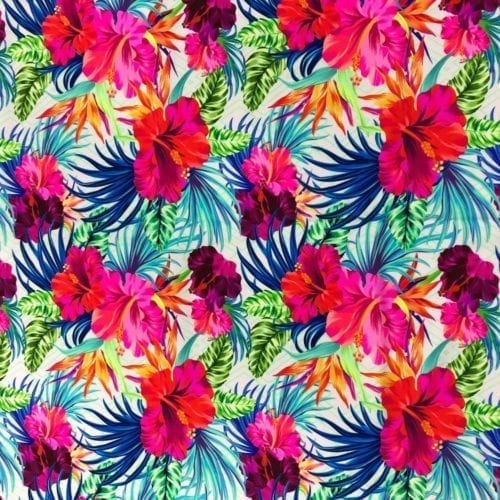 Happy Hibiscus Spandex, happy hibiscus spandex