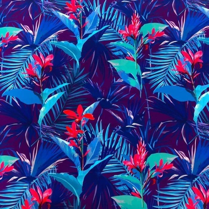 Midnight Tropical Spandex, midnight tropical spandex