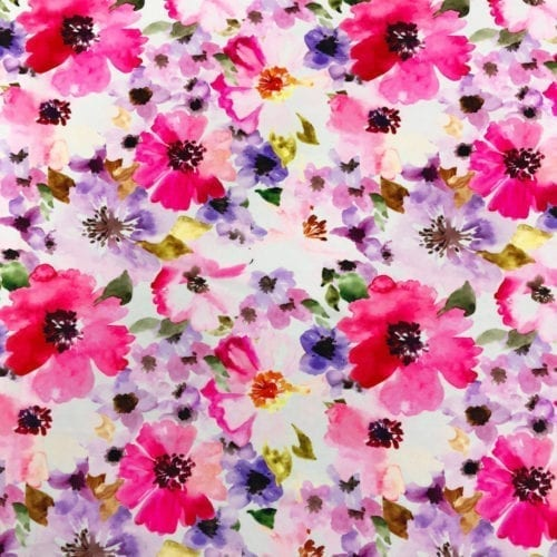 Romantic Flowers Spandex, romantic flowers spandex
