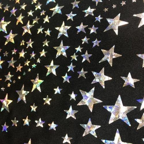 Silver Stars Foil, silver stars foil