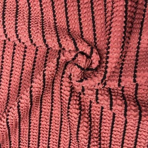 Striped Mini Ruffle Texture Knit, striped mini ruffle texture knit