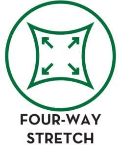 FOUR-WAY STRETCH