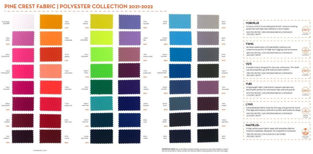 Polyester Collection